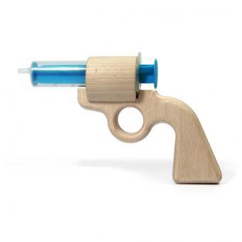 Aqua Joe - Wasserpistole aus Buchenholz