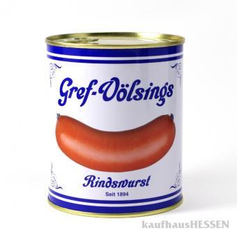 Gref-Völsings Rindswurst Dose