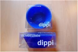 dippi 4 Schälchen blau, hellblau