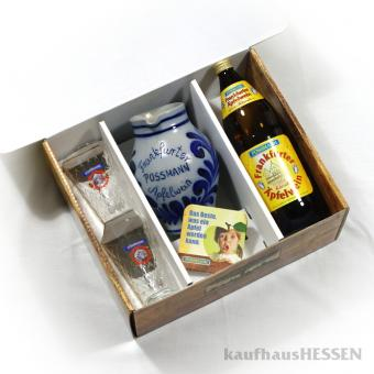 Possmann Geschenkpackung, Frankfurter Karton