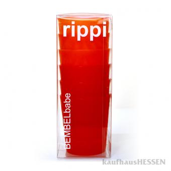 rippi Becher rot, orange