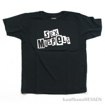 T-Shirt Sex Mispels  Männer L