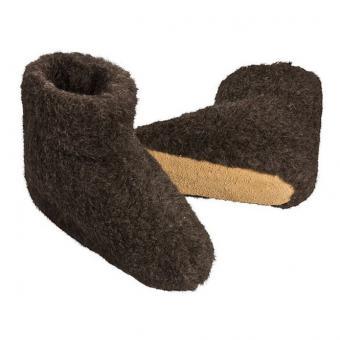 Wollstiefel, schwarz 40-41