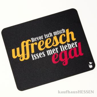 """Mousepad """"Uffreesch"""""""