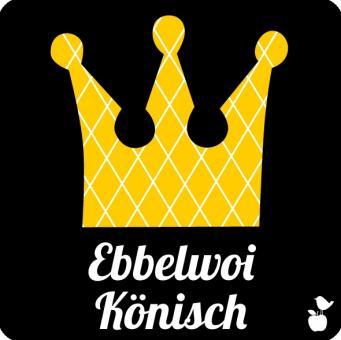 """Untersetzer """"Ebbelwoi Könisch"""""""