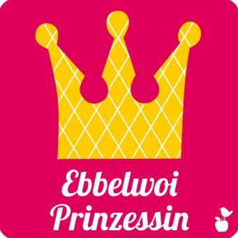"""Untersetzer """"Ebbelwoi Prinzessin"""""""