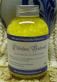 Ebbelwei Badesalz
