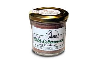 Wild Leberwurst mit Cranberry