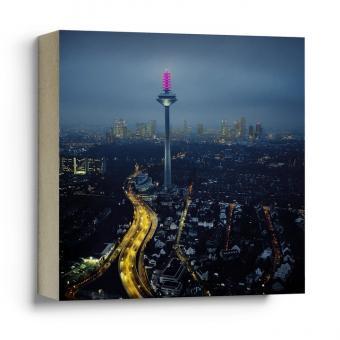 Quadrat Frankfurter Bubb - Leuchtender Spargel