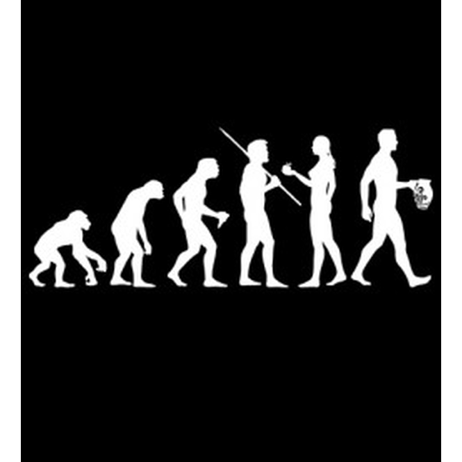 T-Shirt Ebbelution, schwarz, Männer XXL