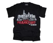 """T-Shirt """"Alles ausser Frankfurt ist scheiße"""" L"""