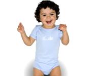 iGude Baby-Body  hellblau