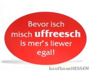 Aufkleber Uffreesch