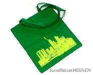 Stofftasche Skyline  grün