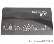 Brettchen Skyline Frankfurt
