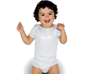 iGude Baby-Body weiß