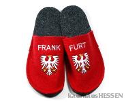 Frankfurt Schlappen  36/37 rot