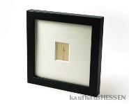 Ein Stück Frankfurt - Ginnheimer Spargel Rahmenfarbe schwarz matt