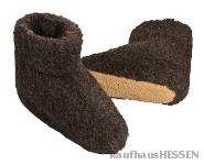 Wollstiefel, schwarz 42-43