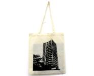 Stofftasche AfE Turm  weiß